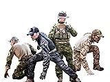 Elite Tribe Emerson Airsoft Tactical bdu Combat Gen3 - Pantalones de camisa para uniforme (Woodland, XXL)