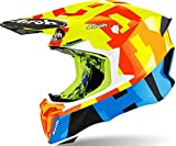 Airoh Casco Twist 2.0 Frame Yellow Gloss XS