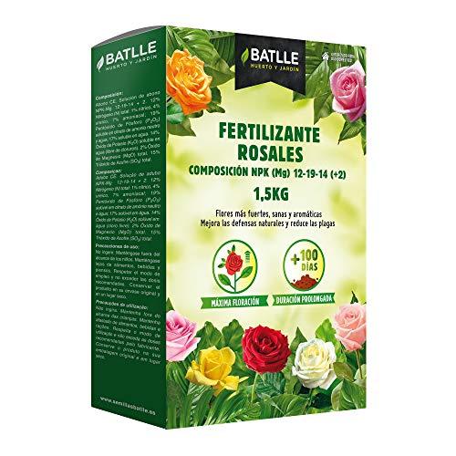 Abonos - Fertilizante Rosales Caja 1,5 Kg - Batlle