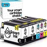 Smart Ink Kompatibel Druckerpatronen Tintenpatronen für HP 932 XL 933 XL 932XL 933XL 5 Multipack 2Black&C/M/Y Patrone hoher Kapazität für HP Officejet 6600 6100 6700 7110 7510 7610 7612 Drucker