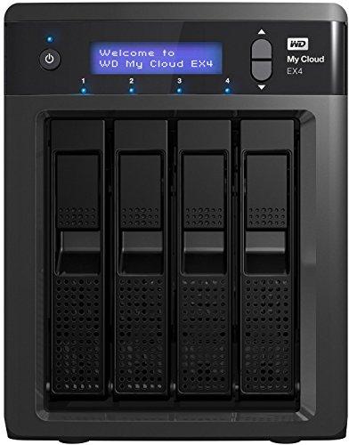 Western Digital 24TB My Cloud EX4 NAS Festplatte - LAN - WDBWWestern Digital0240KBK-EESN