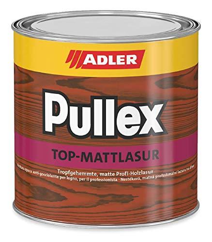 ADLER Pullex Top-Mattlasur - Lärche 750 ml - Matte, tropfgehemmte, dünnschichtige Holzlasur für den Außenbereich