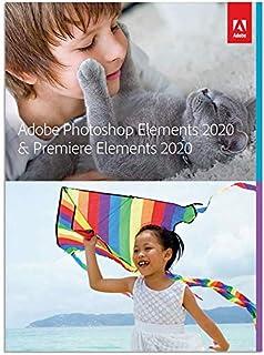 Adobe Photoshop Elements 2020 & Premiere Elements 2020 [PC Online code]