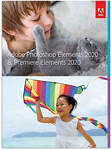 Adobe Photoshop Elements 2020 & Premiere Elements 2020 [PC/Mac Disc]