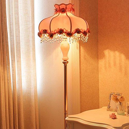 Home staande lamp, staande leeslamp, staande lamp, slaapkamer, nachtkastje, woonkamer, creatief nachtlampje, landelijke doek, verlichting, verticale meisjeskamer, warmte, oogbescherming, verticale tafellamp