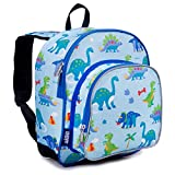 Wildkin 12 Inch Backpack for Toddler Boys and Girls, Perfect Size for Daycare