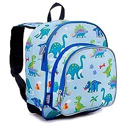 6. Wildkin Dinosaur Land Toddler Backpack