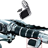 YHMTIVTU Motorcycle Throttle Assist Aluminum Throttle Holder Universal Throttle Assist Pad Rest