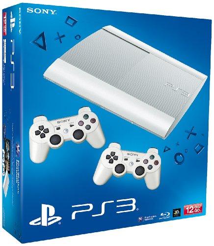 PS3 12GB P WHITE+ 2 DUALSHOCK WHITE