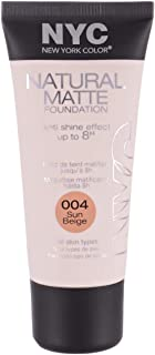 Natural Matte Foundation by NYC, 004 Sun Beige