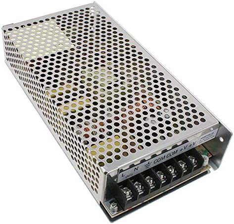 Triad Magnetics AWSP100-24 Power Supply; AC-DC; 24V@4.2A; 85-264VIn; Enclosed; Panel Mount; PFC; AWSP Series
