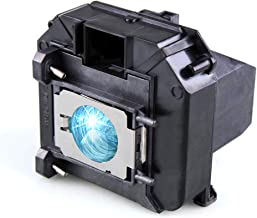 Lanwande Elplp60 / V13h010l60 Replacement Lamp Bulb with Housing for Epson PowerLite 420 425W 905 92 93 95 96W 1835 430 435W 915W Projectors