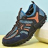Esercizio Scollato,Scarpe da Ginnastica Casual Net Tracing Scarpe Uomo-Blu_45#,Pantofole da Esterno