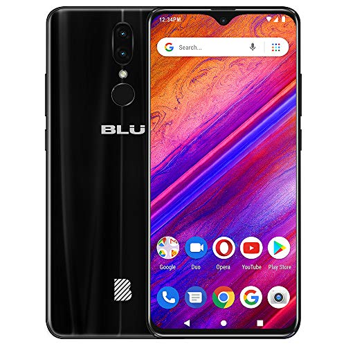 BLU G9-6.3' HD Infinity Display Smartphone, 64GB+4GB RAM -Black