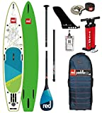 Red Paddle Co 2018 Voyager 13'2 Inflatable Stand Up Paddle Board + Bag, Pump,...