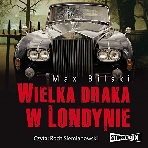 Wielka draka w Londynie (Podróże ze śmiercią) audiobook cover art