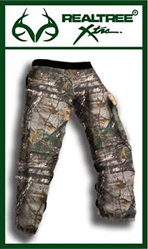 """Forester Chainsaw Safety Chaps with Pocket, Apron Style (Long 37"""", REAL TREE Camo)"""