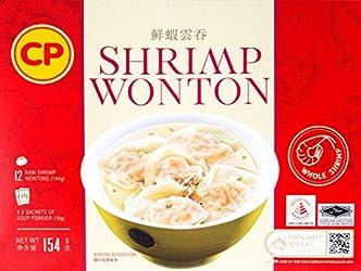 CP Shrimp Wonton Box, 154g - Frozen