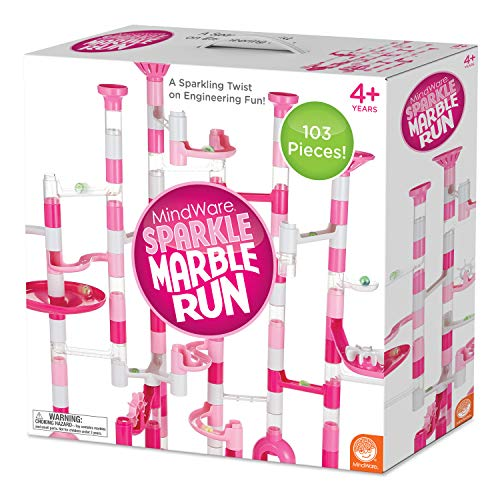 MindWare Marble Run Sets (Sparkle Marble Run 103 Piece Set)