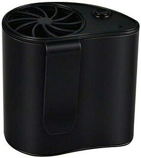 Leobtain Ventilador portátil para Colgar en la Cintura Mini Oficina al Aire Libre USB Recargable Colgar en la Cintura Ventilador Fresco para la Oficina en Casa Viajes al Aire Libre