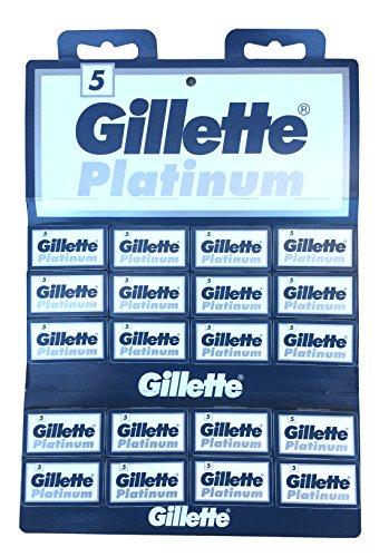 100 lames Gillẹtte Platinum