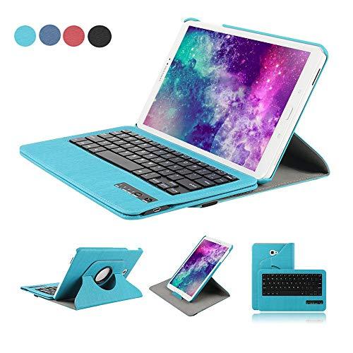 Funda Tablet para Samsung Galaxy Tab A 10.1, Dingrich Funda Teclado Bluetooth Inalámbrico...