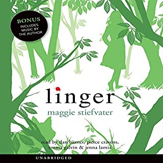 Linger                   By:                                                                                                                                 Maggie Stiefvater                               Narrated by:                                                                                                                                 Jenna Lamia                      Length: 10 hrs and 37 mins     668 ratings     Overall 4.1