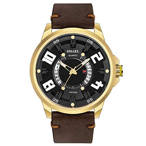 Why Choose Muranba WatchesFashion Creative Geometric Round Belt Men's Quartz Watch Gift