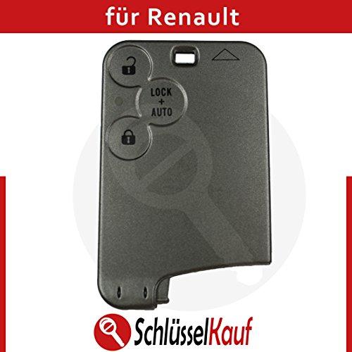 KONIKON 3 Tasten Schlüsselkarte Gehäuse Autoschlüssel Key Card Neu passend für Renault Laguna 2 Espace 4
