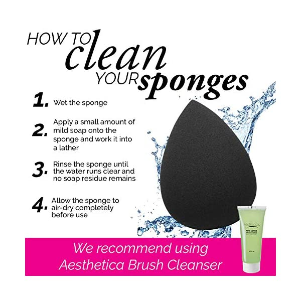 Beauty Shopping Aesthetica Cosmetics Beauty Sponge Blender – Latex Free
