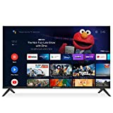 SANSUI 50-Inch 4K Smart TV Ultra HD Android LED TV HDR with Dolby Sound Voice Remote, Support Google Assistant, Chromecast Built-in (2021 Model 50'' TV)