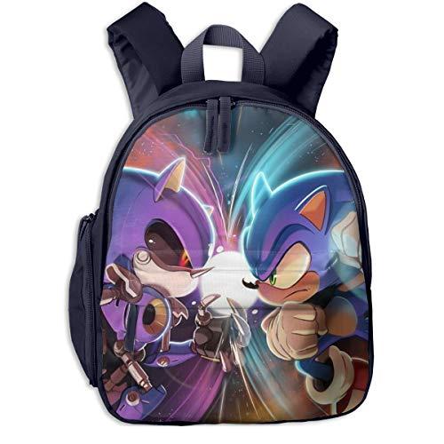 Multifunction Baby Backpack, Sonic Vs Metal Sonic Student Bookbag For Girls Teen School Opens Gift, Best Daypack For Travel Running