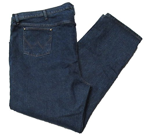 Wrangler Men's Big and Tall Premium Performance Jeans (56W x 34L, Med Stone)