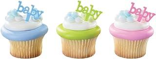 DecoPac Baby DecoPic Cupcake Pics (12 Count)