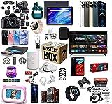 W-HOME Mystery Box Electronic, Caja de Misterio Hay la Oportunidad de Abrir: los últimos teléfonos móviles, Drones, Relojes Inteligentes, etc, Cualquier Cosa Posible, Todos los artículos Son nuevos