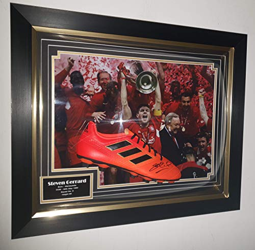 www.strikeautographs.co.uk Signiertes Trikot von Steven Gerrard of Liverpool