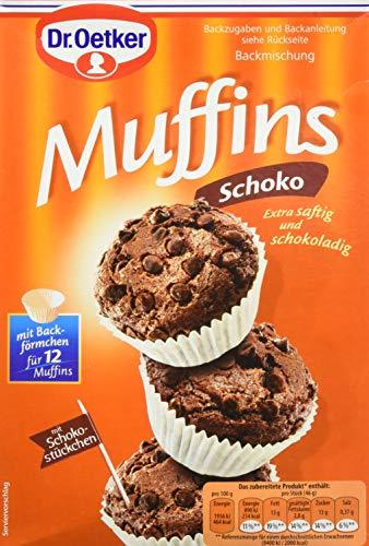 Dr. Oetker Schoko Muffins, 8er Pack (8 x 335 g)