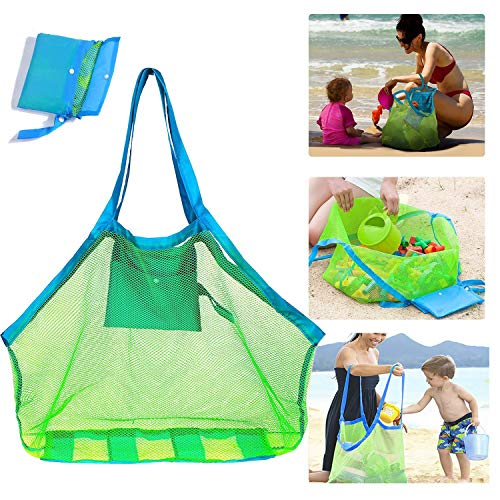 SUPMLC Mesh Beach Bag