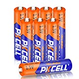 PKCELL Batería alcalina AAAA LR61 AM6 E96 LR8D425 MN2500 MX2500 para Surface Pro Stylus (8 unidades)