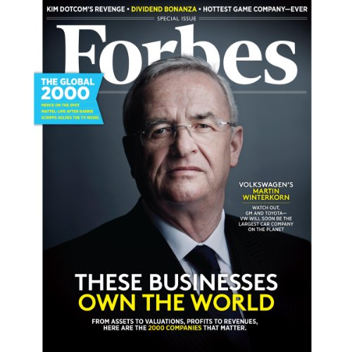 Forbes, April 22, 2013 cover art