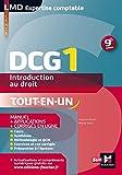 DCG 1 - Introduction au droit - Manuel et applications - 9e édition
