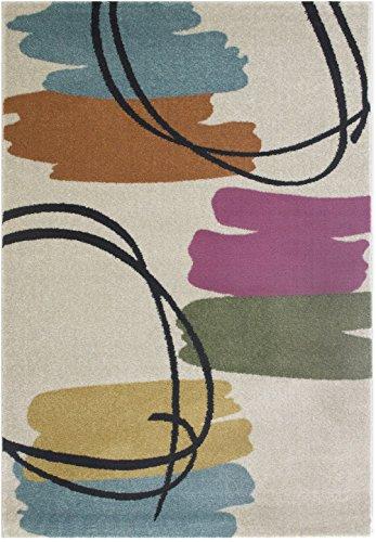 DolceMora Sehrazat 45133 Tapis, Synthétique, Vert, 170 x 120 x 17 cm