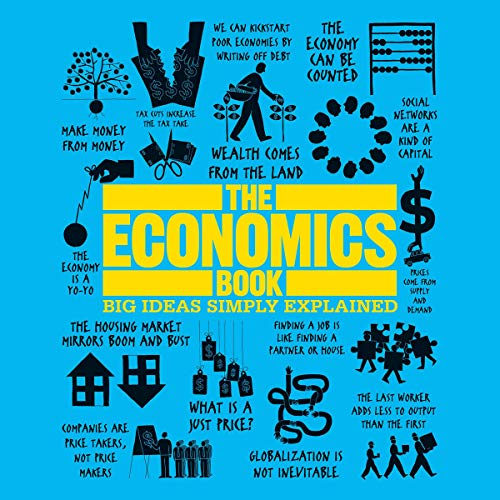 The Economics Book Audiobook By DK cover art