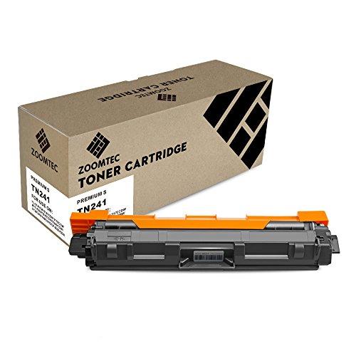 ZOOMTEC Compatibile TN241 TN242BK Cartuccia del Nero toner TN241BK per Brother HL-3140CW, HL-3150CDW, HL-3170CDW, DCP-9020CDW, MFC-9140CDN, MFC-9340CDW, MFC-9330CDW, MFC-9130CW