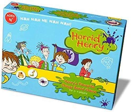 Paul Lamond Horrid Henry Favourite Things Board Game by Paul Lamond