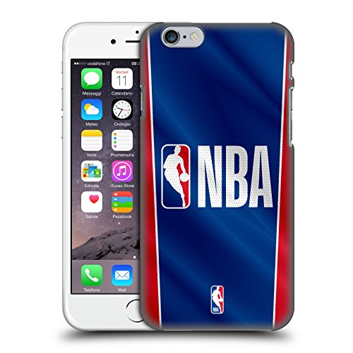 Head Case Designs Ufficiale NBA Banner Logoman Cover Dura per Parte Posteriore Compatibile con Apple iPhone 6 / iPhone 6s