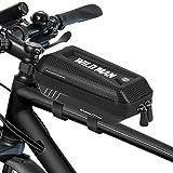 LINGSFIRE Comfortable Bike Seat Bicycle Saddle, Almohadilla de Silla cómoda, Funda sillin para Bicicleta estatica, Funda De Gel para Sillín De Bicicleta Grande Asiento para Bicicleta Estática, Negro