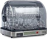 MOSHUO Lavavajillas portátil de encimera, Mini lavaplatos Compacto con Tanque de Agua Incorporado de litro y función de Secado al Aire, programas de Lavado, Cuidado del bebé, Lavado de Frutas y Vasos