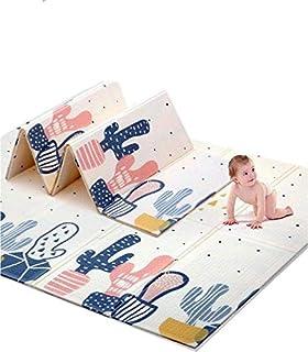 BB-COOL Tapis de jeu pour bébé Tapis d'éveil en mousse XPE pliable et réversible 197x147x1cm