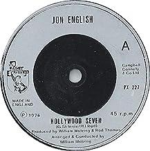 "Hollywood Seven - Jon English 7"" 45"